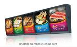 Доски трактира алюминиевой СИД буфета еды из закусочных Mcdonald Kfc меню коробка крытой светлая