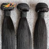 Weave Mongolian não processado do cabelo reto de cabelo humano do Virgin 8A