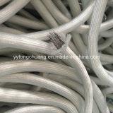 Sellado de la puerta de horno de fibra de vidrio de cuerda con alambre de acero inoxidable.