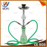 Holzkohle-Tabak-Rohr-Wasser-Glas-rauchendes Set-Glas-Huka