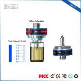 Vaporizzatore registrabile Vape elettronico del flusso d'aria di Piercing-Stile della bottiglia di Ibuddy Vpro-Z 1.4ml