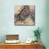 Tête de cheval décorative sur la peinture d'huile