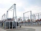 Estrutura da subestação da transformação da transmissão de potência do Ehv Uhv