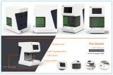 Efeito de número preto na máquina de aço da marcação do gravador do laser