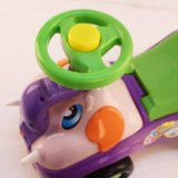Factory Kids Ride on Toy Wiggle Car com Bacrest Atacado