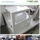 Изготовление металлического листа частей металла белого порошка Coated