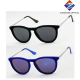 Óculos de sol de plástico unisex de alta qualidade de alta qualidade