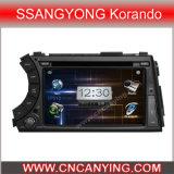 Voiture particulière pour le lecteur de DVD Ssangyong Korando avec GPS Bluetooth. (CY-8062)