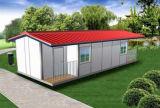 Модульный панельный дом стальной структуры для жить и работы