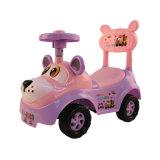 Автомобиль качания малышей кнопки мягкой задего валика гибкий