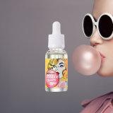 Líquido líquido do suco E do E-Cig natural E do sabor 10ml da goma de bolha da saúde ambiental