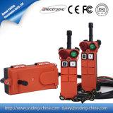 China Proveedor de larga distancia de Radio Control Control Remoto para grúas hidráulicas F21-2S