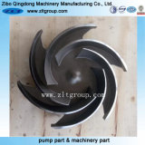 Investment Casting의 ANSI Goulds 3196 Pump Impeller Stainless Steel Made