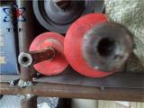 Rullo arancione della parte del rivestimento di gomma in silicone