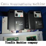 Single Double capas de alambre y cable de cobre engomada máquina de envoltura