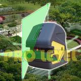 Five-Point DwarsNiveau van de Laser van de Lijn Groene (sdg-232G)