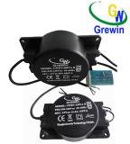 transformador impermeable toroidal de 150va Escaplated para la iluminación de la charca LED