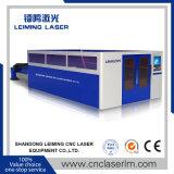 Cortador cheio do laser da fibra da proteção de Lm4020h com tabela da troca