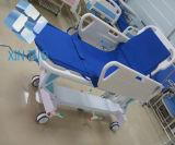 호화스러운 상승과 가을 수동 들것 병원 환자 이동 트롤리