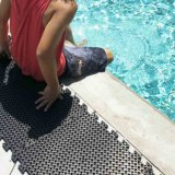 Esteiras de borracha do revestimento do assoalho da piscina da nadada de EVA