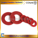Rondelle rouge de fibre pour l'ajustage de précision de Mater de l'eau