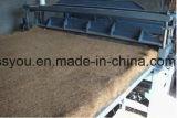 Telaio per tessitura di lavoro a maglia del materasso della canna della fibra di noce di cocco della palma della canapa
