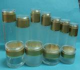 Lotion pour le vérin de bouteilles et pots de crème et chapeaux en acrylique
