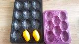 Mangofrucht-Pfirsich-Birnen-Apple-Kiwi-Tomate-Kartoffel usw. Wegwerf-pp. Tellersegmente verpackend