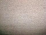 縞の網の編むファブリック