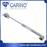 (W502) de aço e de plástico da mola de gás de elevação hidráulica do suporte de porta 60n 80n 100n para mobiliário