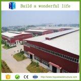 Almacén pre fabricado de acero grande de la estructura de acero del edificio del taller