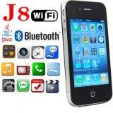 WiFi TVの携帯電話のFacebook Yahoo MSNの携帯電話J8