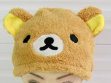 Cappello animale del partito della peluche divertente sveglia molle calda