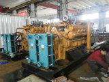 Haute performance et productivité du groupe électrogène de gaz de biomasse 350kw