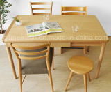 固体木のダイニングテーブルの居間の家具(M-X2427)
