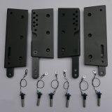 Zeile Reihe mit Aluminiumabstecken-Teilen für PA-Lautsprecher (33)