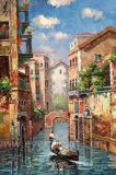 La pintura al óleo del arte de la lona de Venecia