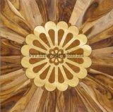 아카시아 단풍나무 나무로 되는 베니어에 의하여 설계되는 쪽나무 모자이크 마루