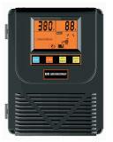 Boîte de contrôle de la pompe à eau, voltmètre numérique et compteur d'amplificateur Affichage en temps réel