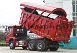 덮음 덤프 트럭을 운전하는 Sinotruk 상표 6X4