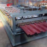 Автоматическая плитка листа толя управлением PLC делая крен формируя машину