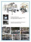 voll automatischer elektrostatischer Beschichtung-Produktionszweig des Puder-100kg