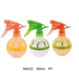 Bottiglia di plastica dello spruzzatore di innesco dei pp per pulizia 360ml (NB430)
