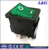 Mini micro interruttore del tasto del cambio di stato di funzionamento dell'attuatore di alta qualità 12A250VAC per Armarium