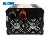 Suoer Power Inverter 2500W Solar Power Inverter 24V à 220V rechargeable variateur pour utilisation à domicile avec CE & RoHS (HDA-2500B)