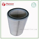 Cartucho de filtro de ar de poliéster polido, filtro HEPA