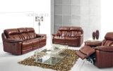 Mobilia di cuoio moderna del sofà (586)