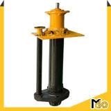 Pompe à lisier verticale pour traitement minéral