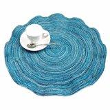 Welle Polyester 100% gesponnenes Placemat für Tischplatte