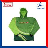 Usura respirabile su ordinazione all'ingrosso delle camice di pesca di Healong